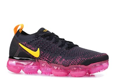 brand new 5ab30 9b8ee Nike W Air Vapormax Flyknit 2 Sneakers Basses Femme, Multicolore  (Gridiron Laser Orange