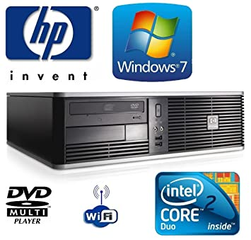 Windows 7 - HP dc7800 Small Form Factor (SFF) Wi-Fi enabled Desktop