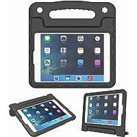 Funda para iPad Mini 1, 2, 3, 4 y 5 Generación – Ligera, a prueba de golpes, convertible, con asa incorporada, soporte para tablet para niños – visualización Retina, Negro, For iPad Mini 1 2 3 4 5 Tablet