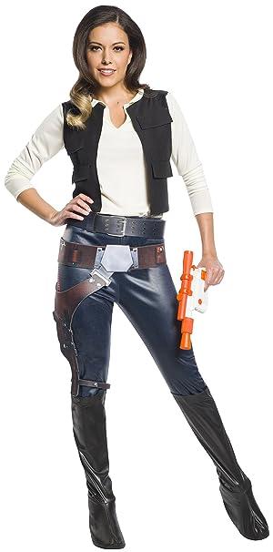 Amazon.com: Rubies Han Solo - Disfraz de mujer para adulto ...