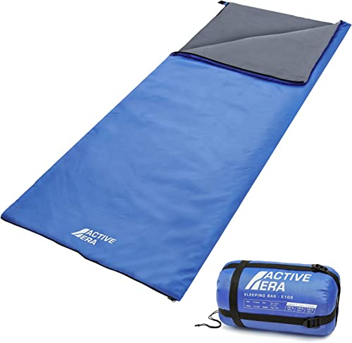 Ultra Lightweight Sleeping Bag – Perfect for Warm Weather, Sleepovers, Fishing, Outdoor Camping and Hiking in The Summer Months