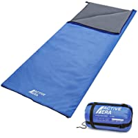 Active Era Ultralight Sleeping Bag – For Warm Weather, Summer - Water and Tear Resistant