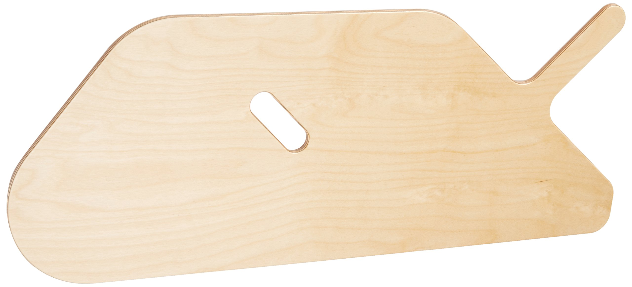 Sammons Preston Offset Sliding Board, Mobility Transfer Board for Wheelchair Users & Elderly, Birch Wooden Transferring Tool, Transport Slider for Wheelchairs, Cars, Beds, or Chairs