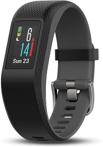 Garmin v vosport Smart Activity Tracker – Slate, S M Renewed