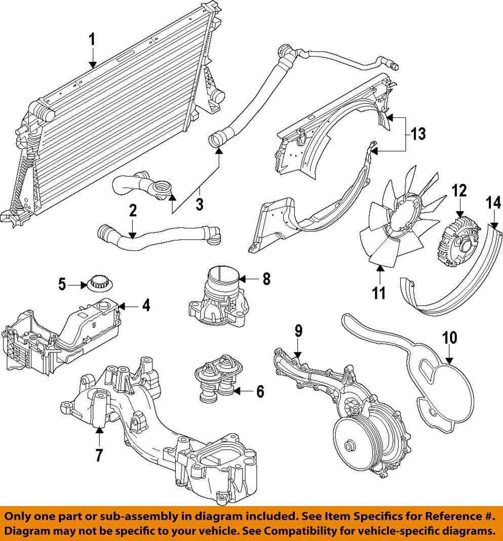 Ford BL3Z-8C350-A Hose Assembly