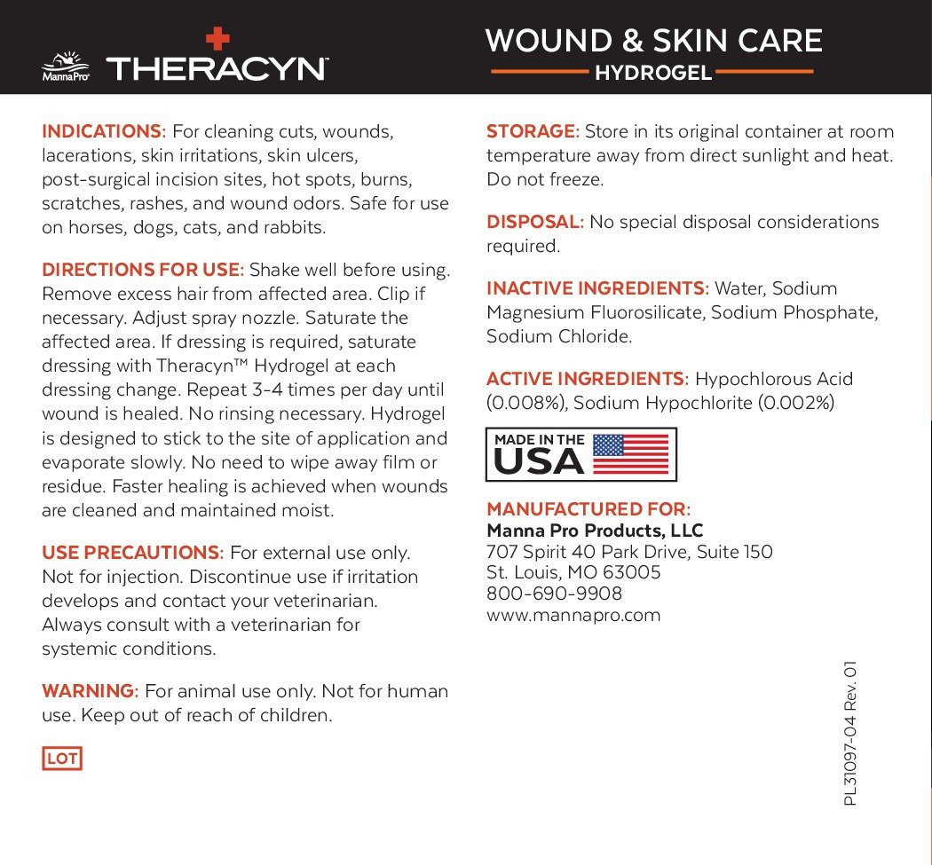 Manna Pro Theracyn Pet Wound and Skin Care Hydrogel