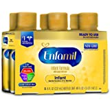 Enfamil Infant Formula, Ready to Use 8 Fluid Ounce Bottle, 6 Count