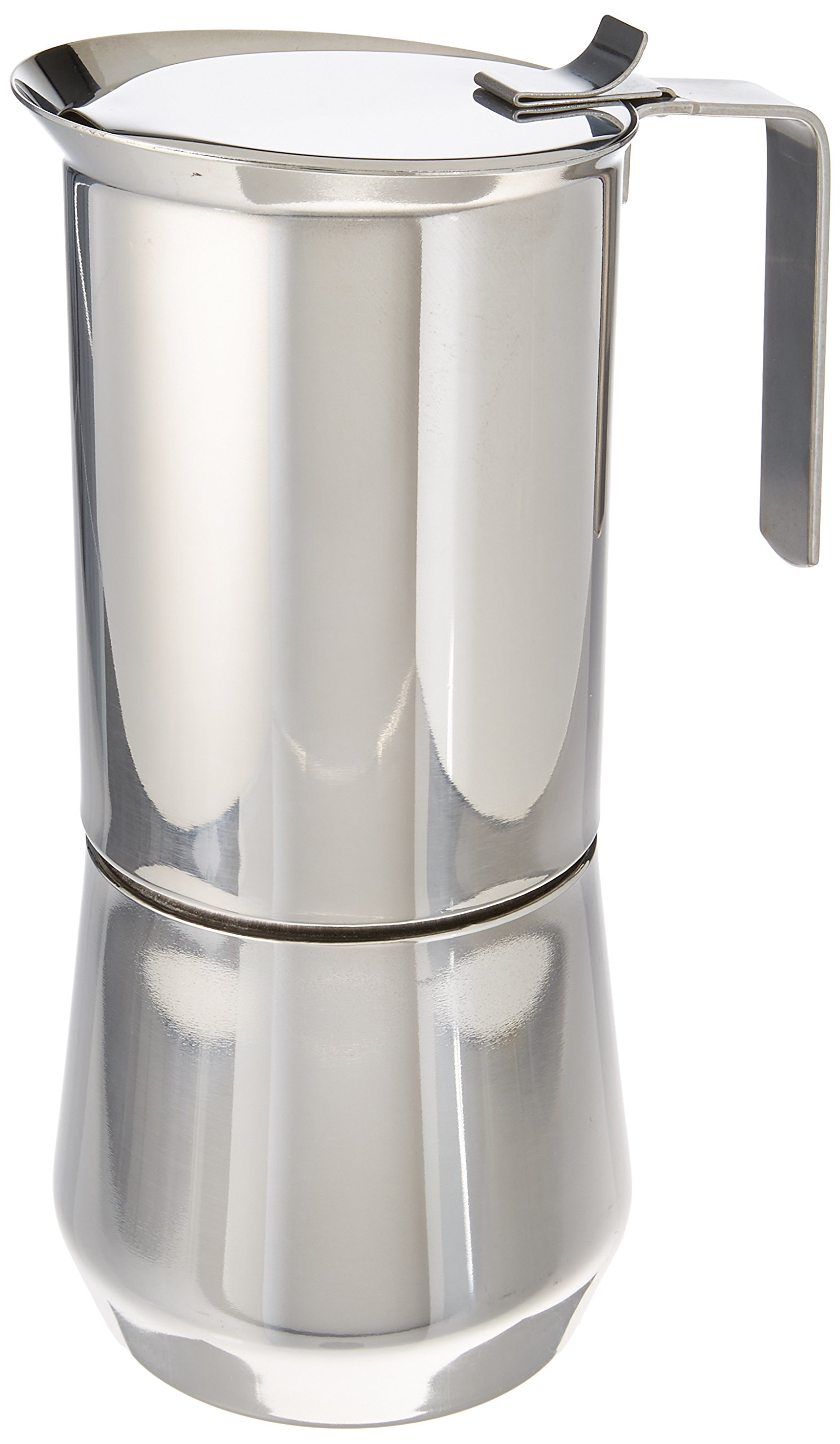ILSA 122-10, Stainless Steel Stove-Top Espresso Maker, 10- cup by GAT