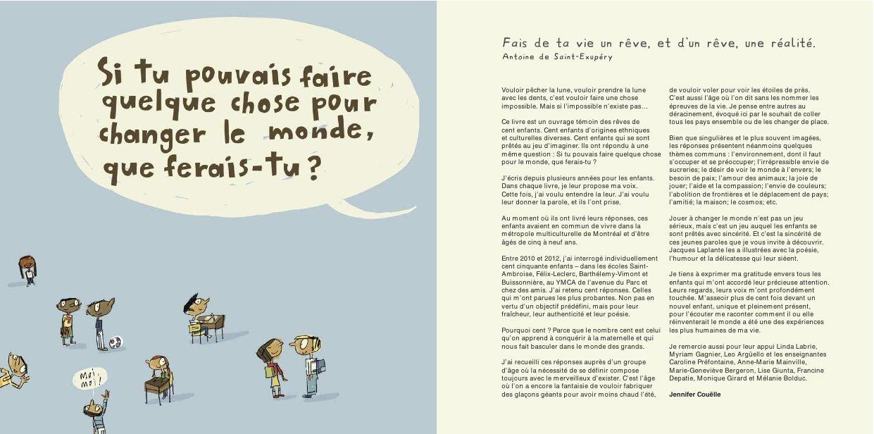 Bien connu Amazon.fr - Cent enfants imaginent comment changer le monde  WJ97