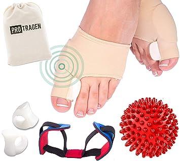 Férulas para la corrección de juanetes y pie masaje - Juego de Pelota - Flexible para la corrección ...