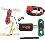 CURT 56165 Vehicle-Side Custom 4-Pin Trailer Wiring Harness for Select Toyota RAV4