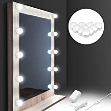 lighting fixtures bathroom vanity. [2018 UPGRADED] Hollywood Style LED Vanity Mirror Lights Kit, Auledio Makeup Light With Lighting Fixtures Bathroom