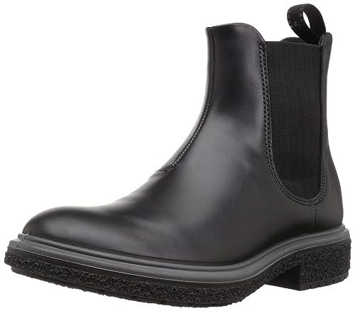fd6bb4c964b3b1 ECCO Herren CREPETRAY HYBRID M Chelsea Boots Schwarz (Black 1001) 39 EU