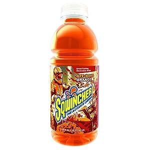 Sqwincher Activity Drink, Orange, 20 oz (Case of 24)