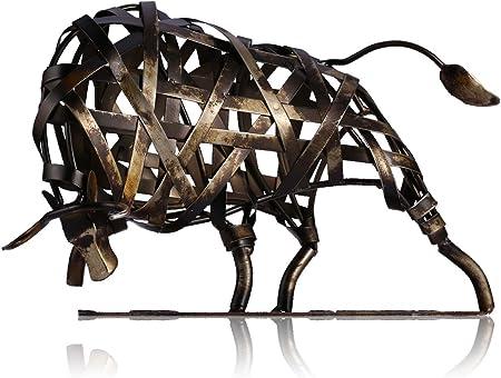 Hecho a mano, escultura de metal.,Pintura del medio ambiente, el color coincide con la forma perfect