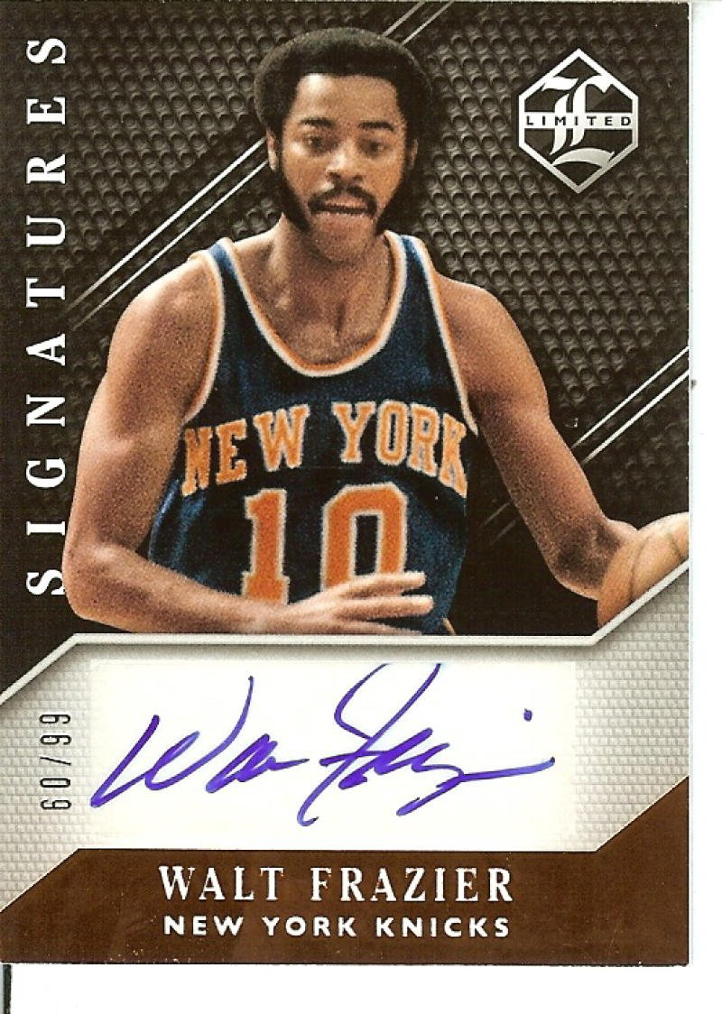 Basketball NBA 2015-16 Limited Signatures #19 Walt Frazier Auto 60/99 Knicks by Limited