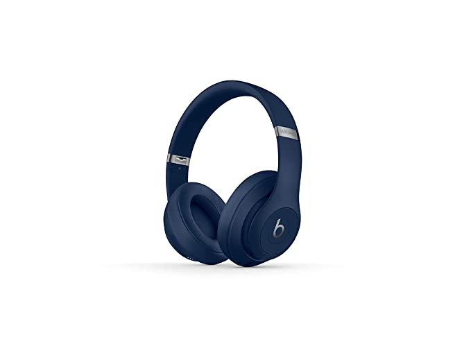 6ccc5544acc Image Unavailable. Image not available for. Color: Beats Studio3 Wireless  Noise Canceling Over-Ear Headphones - Blue