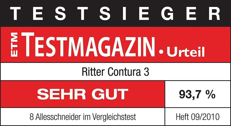 Ritter Contura 3 558000 65 W Silbermetallic Metal,