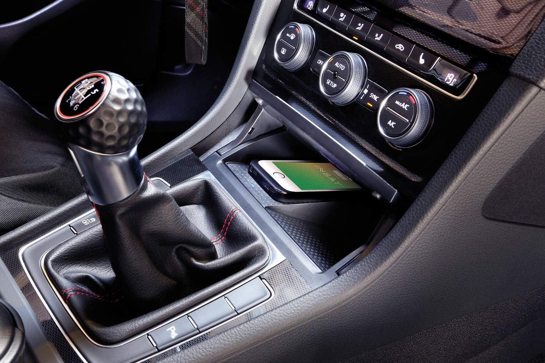 Wireless Charging Ladematte Für Volkswagen Golf 7 Vii Ab 2012 Induktives Laden Mit Qi Zertifizierung Im Vw Mit Inbay Einfacher Einbau Mit Plug Play Kabelsatz Made In Germany Auto