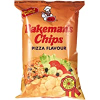 Bakeman's Potato Chips - Pizza Flavor, 100 gm