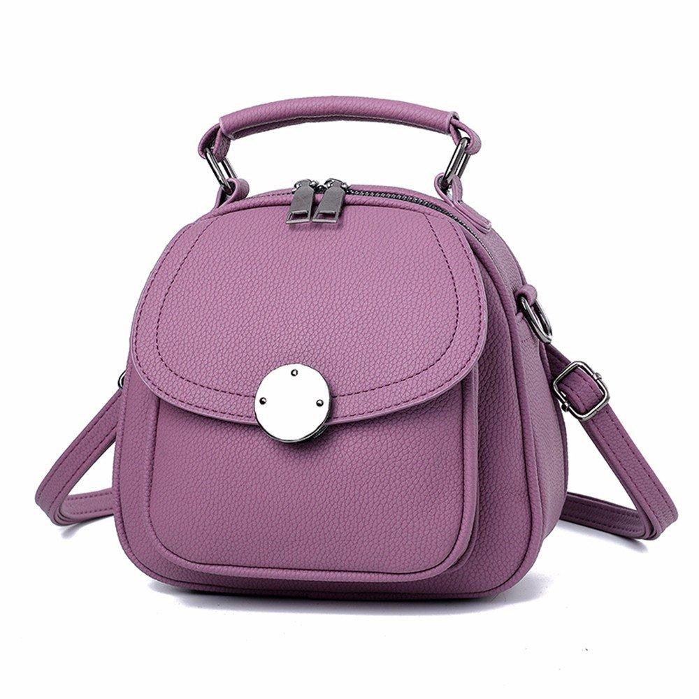 MSZYZ Regalos Bolso Bolso bandolera sencilla violeta