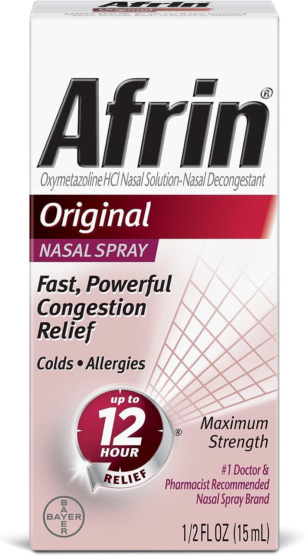 Afrin Original Spray, 0.5 Ounce: Health & Personal Care