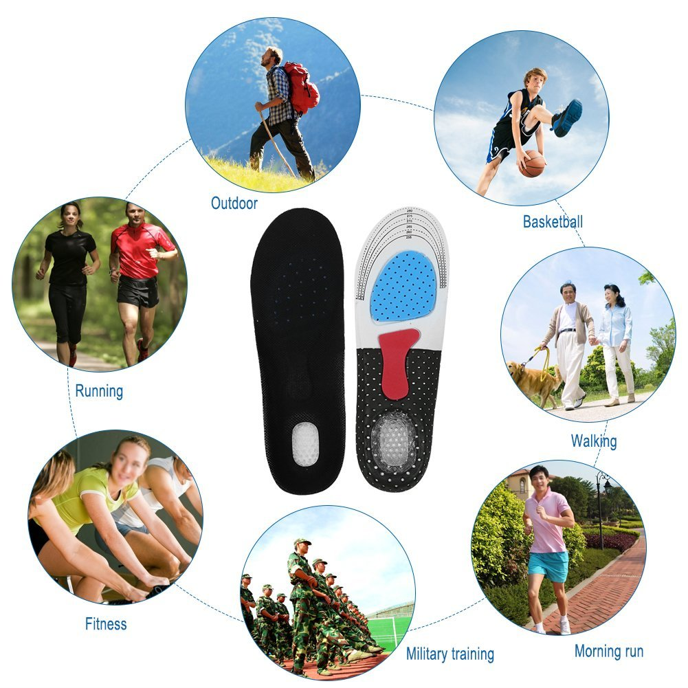Plantar Fasciitis Insoles Heel Spur Orthopedic Shoes for Heel Pain