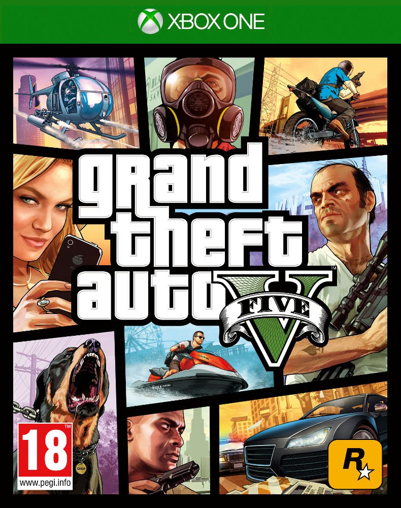 Grand Theft Auto V (Xbox One) product image
