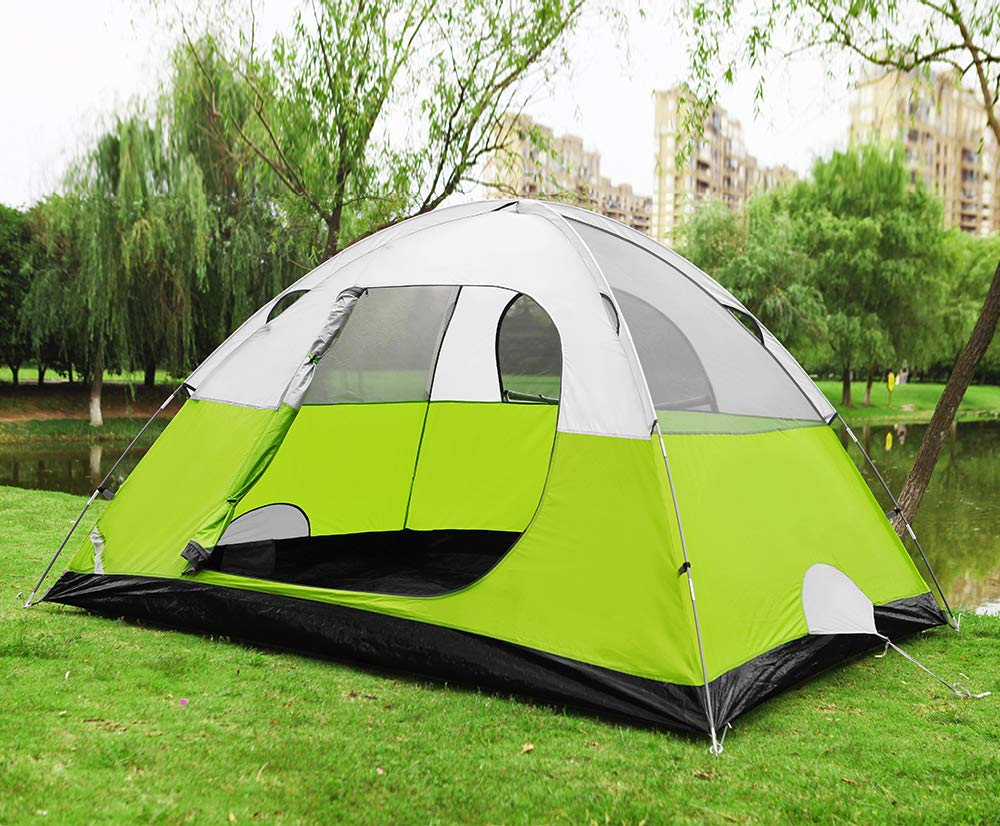 Star Home 2 4 6 Person Tents Camping Outdoor Backpacking Tents Double Layer Tents Family Camping Tents