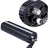 TopoGrow SUPER LUMEN 400W/600W/1000W MH HPS Electronic Ballast for Gorw Light Kit W/Fan Inside DiIgital Ballast UL lISTED (1000W)