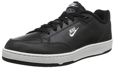 best service e4e1b c210c Nike Grandstand II Scarpe da Ginnastica Basse Uomo, Multicolore  (BlackWhiteNeutral