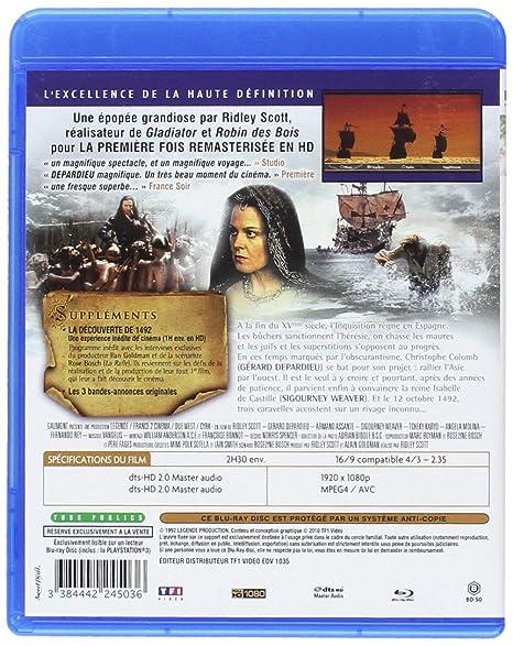 1492, Christophe Colomb [Blu-ray]: Amazon.fr: Gérard Depardieu ...