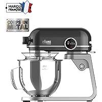 Faure Robot Pâtissier Magic Baker Premiuim - 800W transmission directe -Mouvement Planétaire - Bol Inox 5,2L