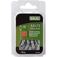 Salki 0394812 Remache Flor de Aluminio y Acero