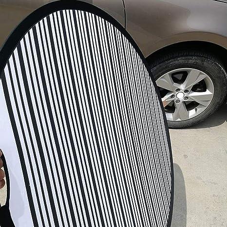 uswilk 80CM Striped Reflector Car Line Board PDR Foldable Reflector Board Light Reflector Dent Repair