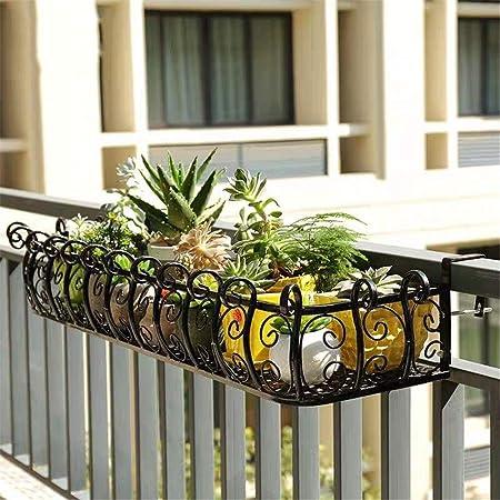 Estante para plantas Soporte para jardín Estante Soporte para plantas colgantes de soporte de plantas de metal de hierro inoxidable para interiores y exteriores Soporte de exhibición para interior al: Amazon.es: Hogar