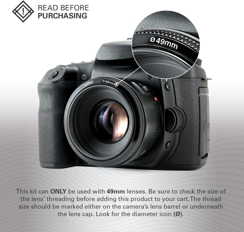 Ultra Slim Multi-Coated L39 German SCHOTT Superior Clarity Glass Polaroid Optics 86mm Pro UV /& Protective Filter