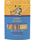 Honey I'm Home All Natural, Honey Coated Buffalo Chews, Mini Muncher Variety Pack, 6 Pieces