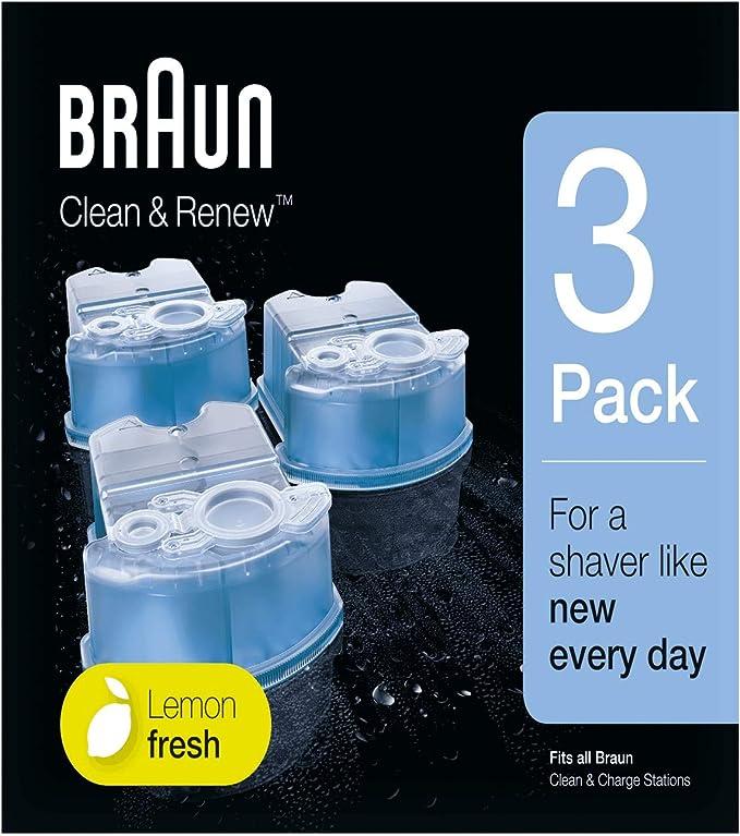 Braun Ccr 3 Recambios De Líquido Limpiador: Amazon.es: Bricolaje y ...