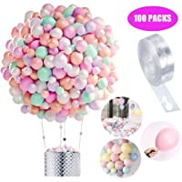 Globos Pastel 100-PACK, Macaron Pastel Color Latex Balloon