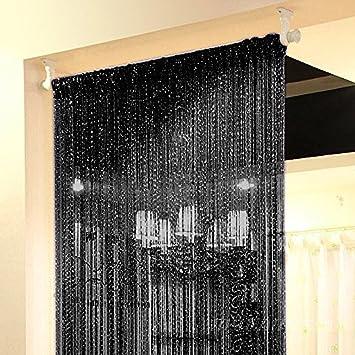 Liqy Rideaux Salon,Rideaux Voilage Curtain Rideau de Porte,Top ...
