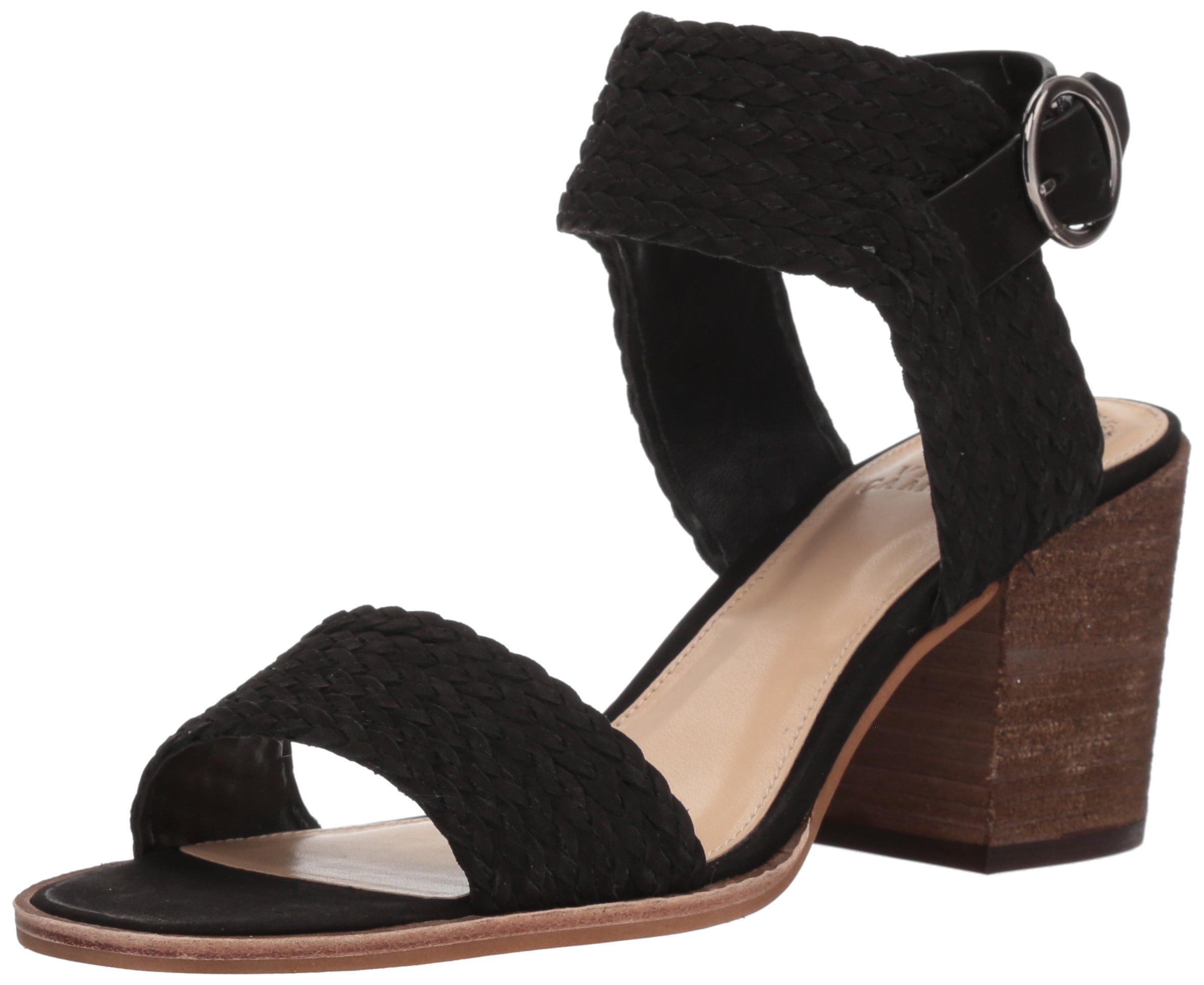 Vince Camuto Women's Kolema Heeled Sandal, Black, 6 Medium US
