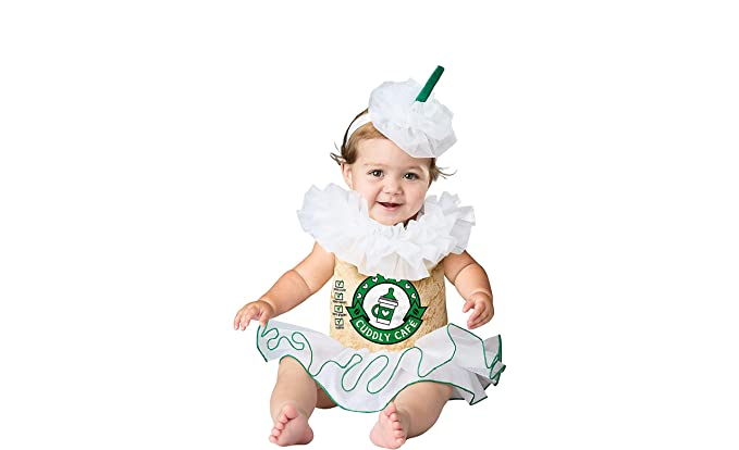 c72e2f0be Amazon.com: Mommy and Me Cappuccino Cutie Baby Girls Halloween Costume (6-9  Months): Clothing
