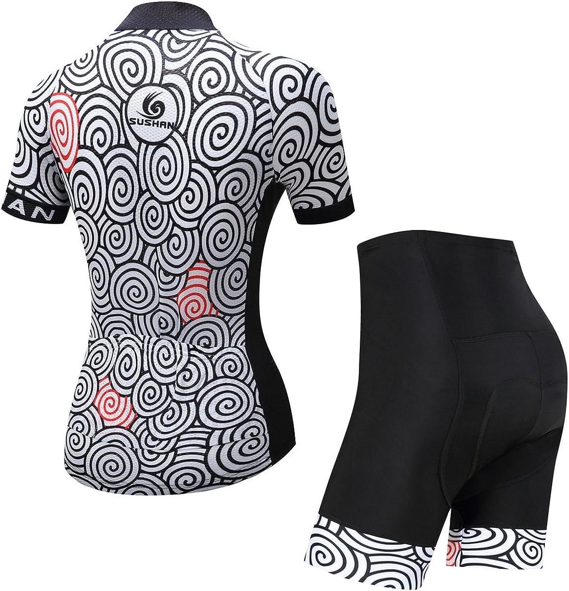 X-Labor Ensemble maillot de cyclisme pour homme avec manches courtes et pantalon de cyclisme avec rembourrage 3D