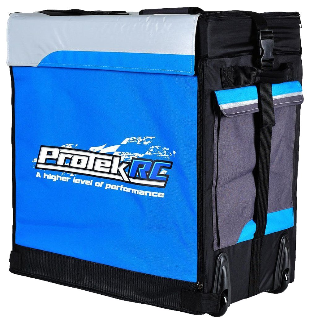 ProTek RC Buggy Super Hauler Bag with Plastic Inner Boxes (1/8 Scale)
