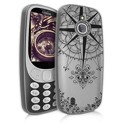 Amazon.com: kwmobile - Carcasa para Nokia 3310 3G 2017 / 4G ...