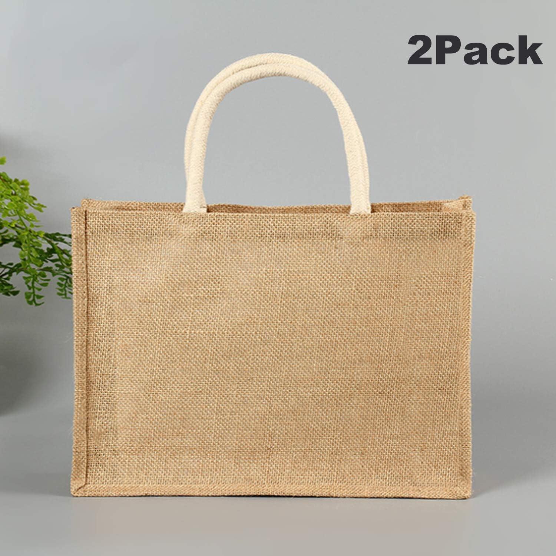 Jute Burlap Tote Bags Swaps to reduce waste