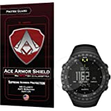 (3 PACK) Ace Armor Shield ProTek Guard Screen Protector for the Suunto Core Wrist-Top Computer Watch / with free lifetime replacement warranty