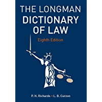 Longman Dictionary of Law (English Edition)