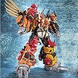 JINBAO Transformer G1 MMC Predaking Feral Rex Predacons Combiner 6 in 1 Toys Oversize Model Upgrade Edition Action Figure Rob